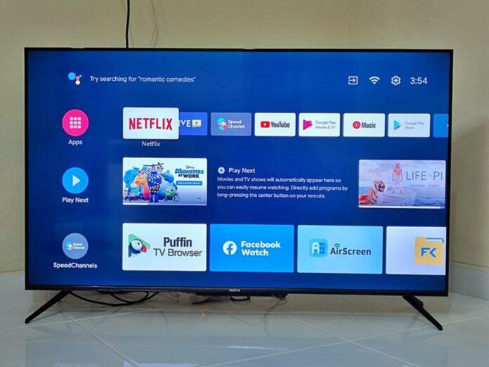 Realme Smart TV 4k 50 Inch